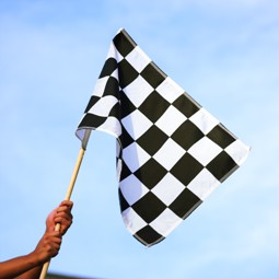 Finish the Race by Winning